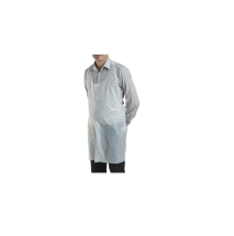 WHITE DISPOSABLE APRONS(100bx)