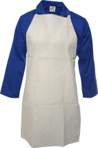 36 x 24   CHROME LEATHER APRON C/W BUCKLE & STRAP