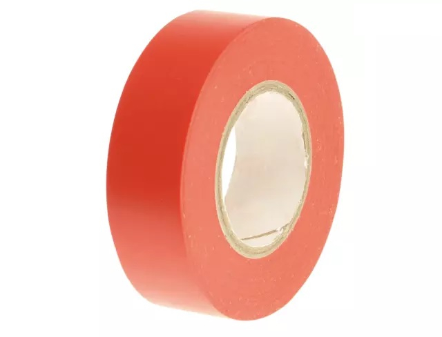 FAITAPEPVCR  19mm x 20m    RED PVC ELECTRICAL TAPE