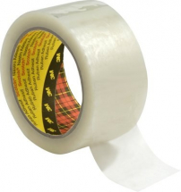 50mm x 66mtr 3M 371 CLEAR TAPE