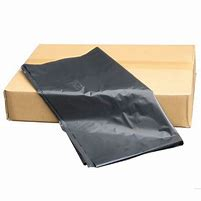 22inch x 33.5inch x 47inch  MEDIUM DUTY BLACK COMPACTOR SACKS (100bx)