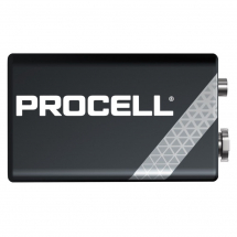 9v            DURACELL PROCELL BATTERIES