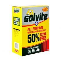 SOLVITE DECORATORS WALLPAPER PASTE (30 ROLL PACK)