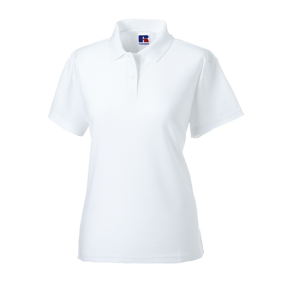 539F   WHITE POLO SHIRT MEDIUM SIZE 12