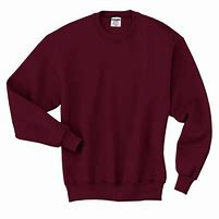762M  BURGUNDY SWEATSHIRT   XL