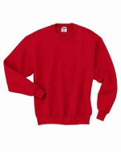 762M  RED  SWEATSHIRT   MEDIUM