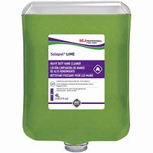 DEB  SOLOPOL LIME HAND CLEANER (LIM4LTR)             4 x 4ltr