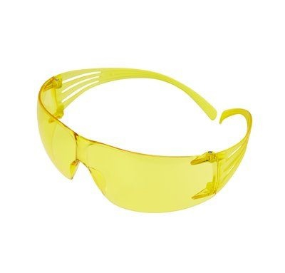 SF203AF-EU        3M SECUREFIT YELLOW LENS SAFETY SPECTACLES