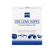 ZEISS LENSE WIPES     (BX 200)
