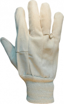CW339/LDS  COTTON DRILL GLOVES