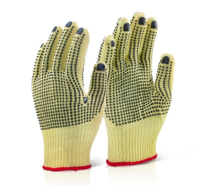 KGMWD9       DOTTED M/W KEVLAR GLOVES
