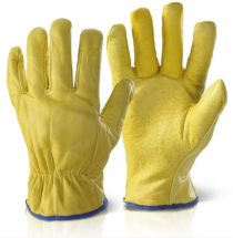 QLDGXL LINED DRIVERS GLOVES XL
