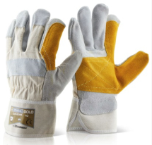 CANDPP   H/Q GOLD  DOUBLE PALM RIGGER GLOVES