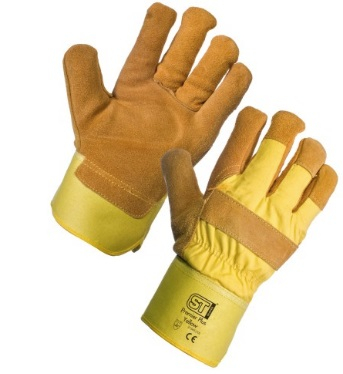 21543    YELLOW THERMAL SPONGE LINED RIGGER GLOVES(PACK 12'S)