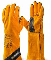 BFPGW 16inch CAT 2 GOLDEN LEATHER WELDERS GAUNTLETS