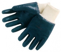 27-602/8   ANSELL FULLY COATED BLUE NITRILE GLOVES