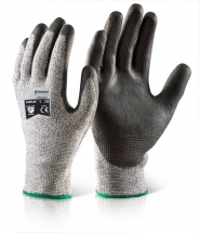 GH500  PU COATED CUT RESISTANT GLOVES MEDIUM (SIZE 8)