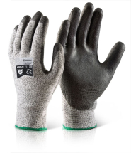 GH500  PU COATED CUT RESISTANT GLOVES LARGE  (SIZE 9)