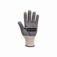 7303/9     FIRMADOT PVC COATED KNITTED GLOVES