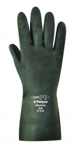 MAXIMA  HEAVY DUTY FLOCK LINED RUBBER GLOVES SIZE 10