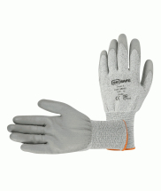 SS5107      CUT 5 RESISTANT PU GLOVES SIZE 9