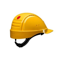 G2000DUV-GU   3M PELTOR YELLOW VENTILATED SAFETY HELMET
