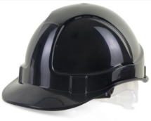 BBEVSHBL  BLACK  VENTED SAFETY HELMET
