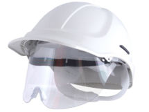 HC600VW-HXSPEC WHITE S/RATCHET RETRACTASPEC HELMET