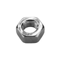 8mm(M8)    ZINC PLATED HEXAGON FULL NUT (100bx)