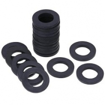 30mm x 19mm     RUBBER WASHERS 1mm THICK (500)