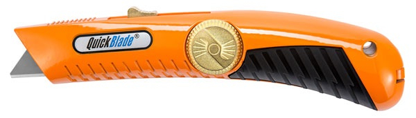 QBS-20  QUICKBLADE RETRACTABLE SAFETY KNIFE