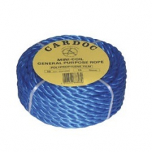 220m x 6mm  BLUE POLYPROP ROPE