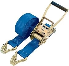 50mm x 10mtr LOADBINDER STRAPS BLUE (5000kg) CAPACITY