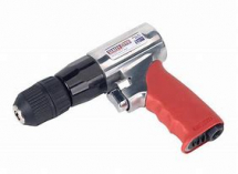 GSA241  SEALEY 10mm REVERSIBLE AIR DRILL WITH KEYLESS CHUCK