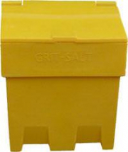 YELLOW SALT/GRIT BIN    200ltr