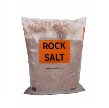 BROWN DE-ICING(ROCK) SALT 25kg