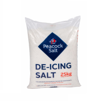 WHITE DE-ICING(ROCK) SALT 25kg