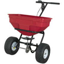 SPB57W    SEALEY SALT SPREADER PNEUMATIC TYRES(57kg CAPACITY)