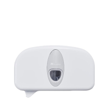 DCPCLW   TOILET ROLL DISPENSER TWIN (SUIT JCL100PN CORELESS)