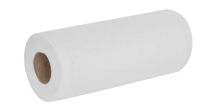 HRW410     10inch 100sht 2inch WHITE 2PLY WIPING ROLL