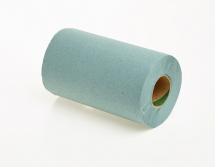 2115            76m GREEN 1PLY ROLL TOWELS