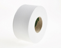 20103     325m 77mm WHITE 1PLY MIDI JUMBO TOILET ROLLS