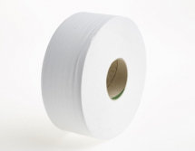 J27400    400m 77mm WHITE 2PLY MAXI JUMBO TOILET ROLLS