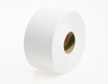 JT02      200m 60mm WHITE 2PLY MINI JUMBO TOILET ROLLS