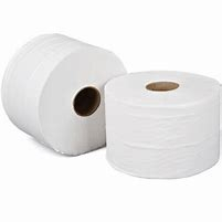 JT81SW    WHITE 125m 38mm 2PLY MINI JUMBO TOILET ROLLS