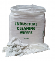 No1      WHITE COTTON RAG 10kg