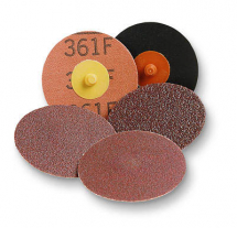22404 75mm 80g 361F ROLOC DISC (BROWN)