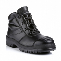 BLACK S/MIDSOLE SAFETY    BOOT SIZE 11
