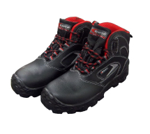 FOWY         NON-METALIC BLACK SAFETY BOOT SIZE 7