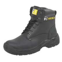 inchHinch FIT BLACK SAFETY      BOOT SIZE 12